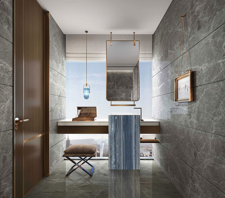 elegant washrooms